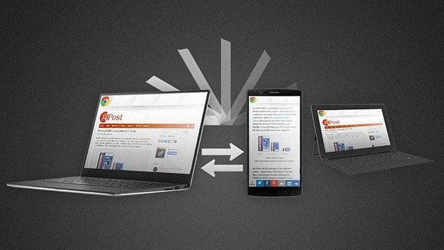 Chrome Tab Sync