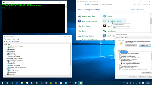 Traditional Utilities Windows 10