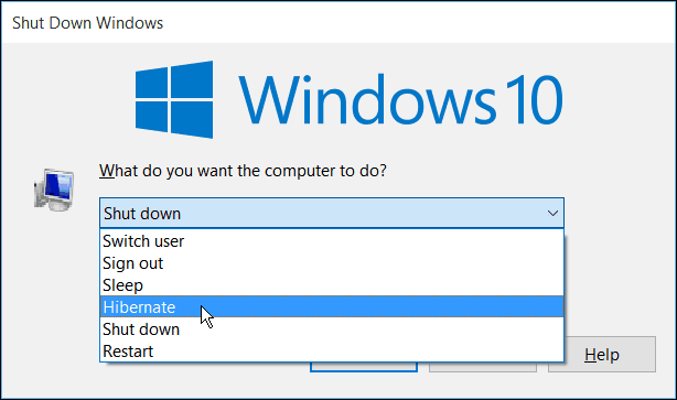 Windows 10 Power