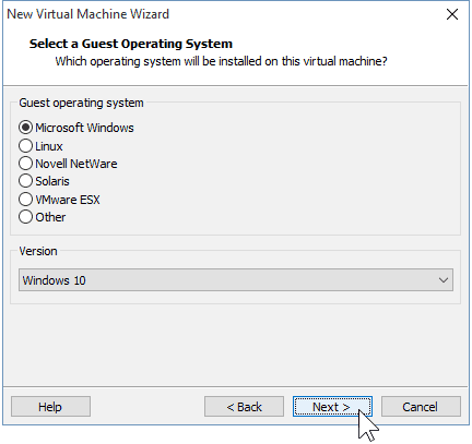 04 Select OS Windows 10 32-bit 64-bit