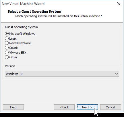 04 Select OS Windows 10 32-bit 64-bit