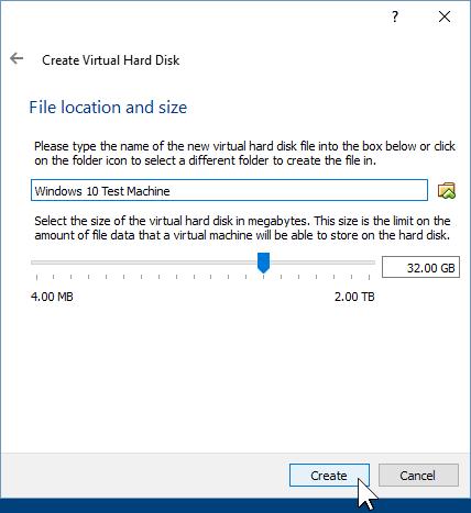 07 Determine Hard Disk Location (Windows 10 Install)