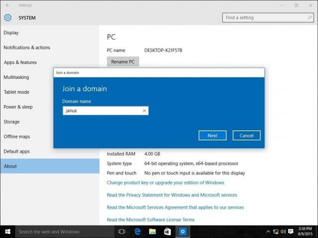 Can Windows  Home Be A Domain Client