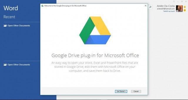 Google Drive Plug in