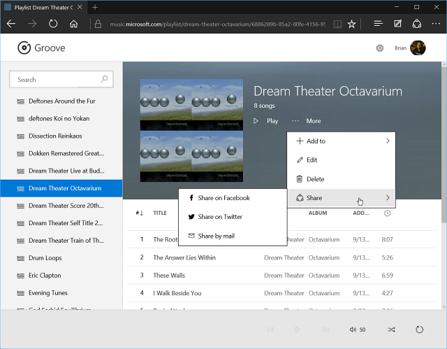 Microsoft Groove Music Now Available On All Mobile Platforms