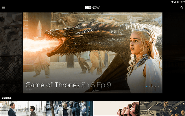 HBO NOW GoT