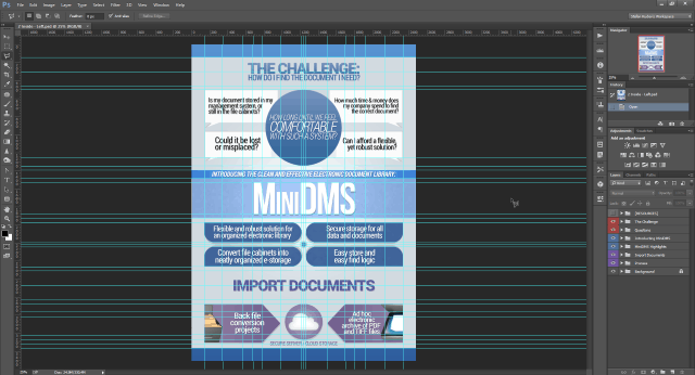 PSD with Lots of Layers