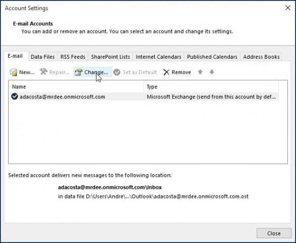 How to Add Additional Mailbox to Outlook 2016
