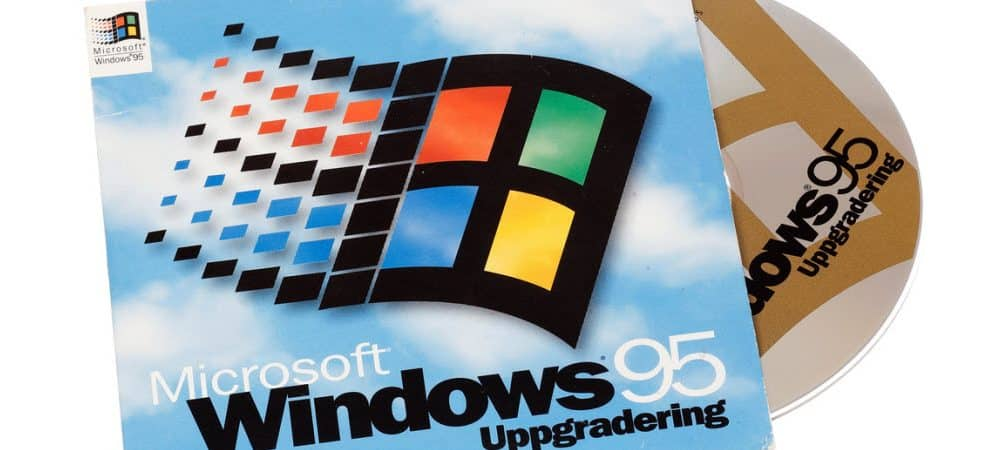 Windows 95 20th Anniversary: 20 Years of Tech Advancements