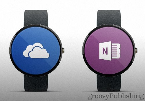Microsoft Productivity Apps for Apple Watch and Android Wear