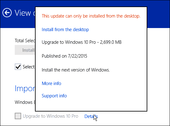 Windows 8 Updates