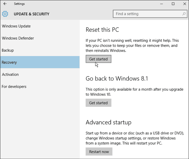 do i need to activate windows 10 after reset