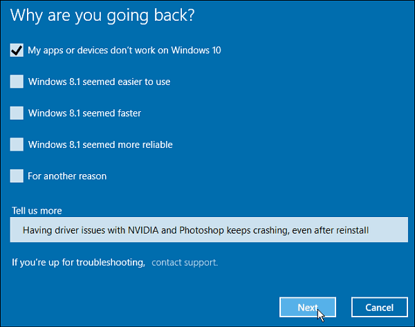 How to Rollback Your Windows 10 Upgrade to Windows 7 or 8 1