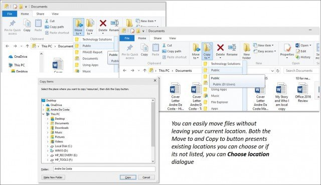 Copy and Move Files