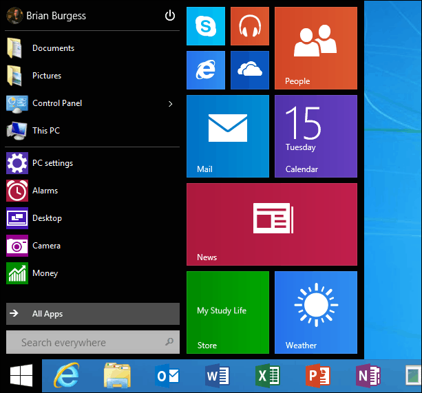 Windows RT 8 1 Update 3 with Start Menu Available Now (Updated)