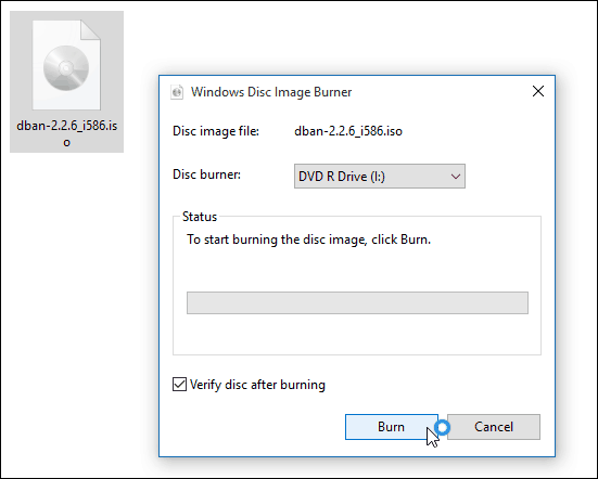 How to Mount and Burn ISO Images in Windows 10