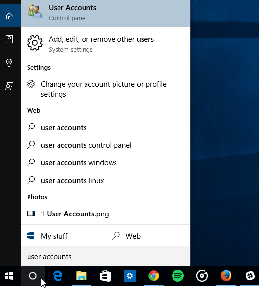 change local profile name windows 7