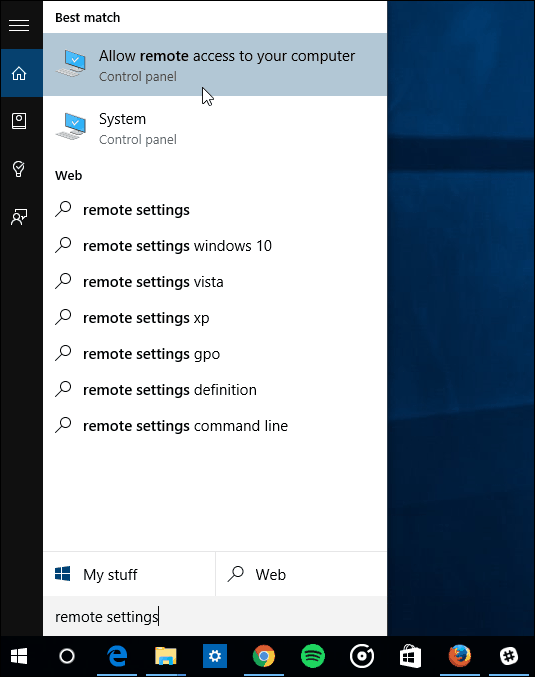 How to setup a remote desktop and connect to your pc from anywhere.