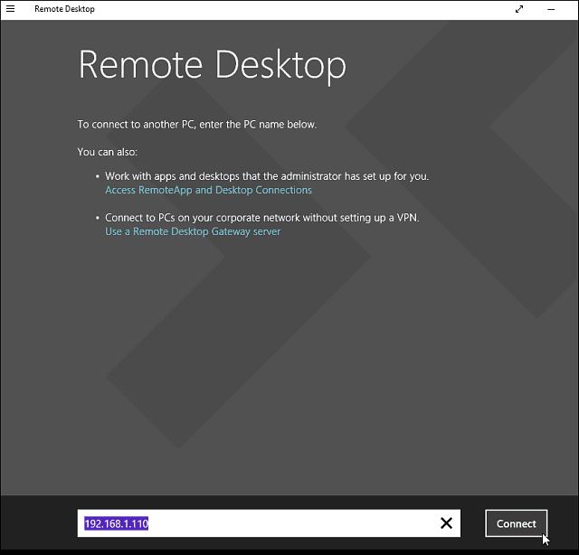 3 Remote Desktop app