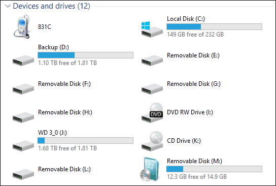 How to assign a drive letter
