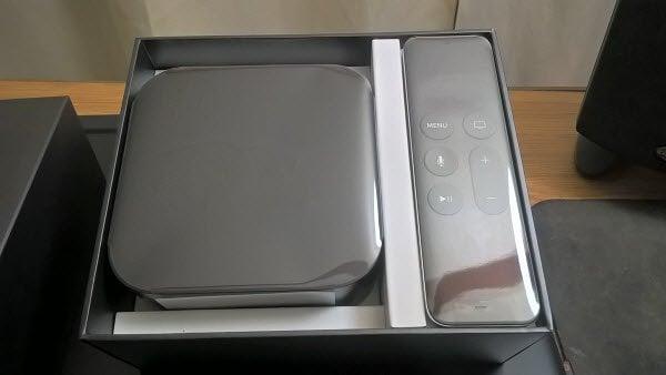New Apple TV in Box