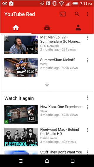 Youtube Gets Updated With Material Design Apk Download: Get Started With A Free Month Of YouTube Red