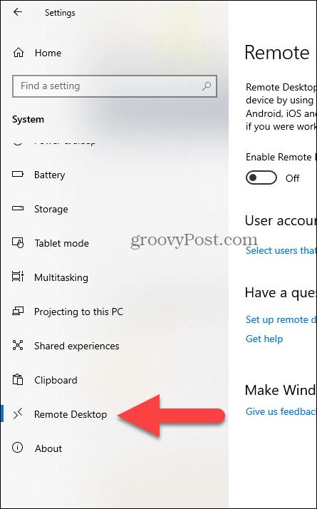 enabled-rdp-remote-desktop-windows-10