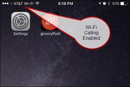 Wi-Fi Calling Enabled Display
