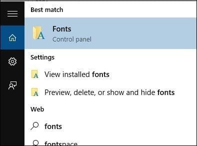 open fonts