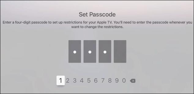 2 Set Passcode