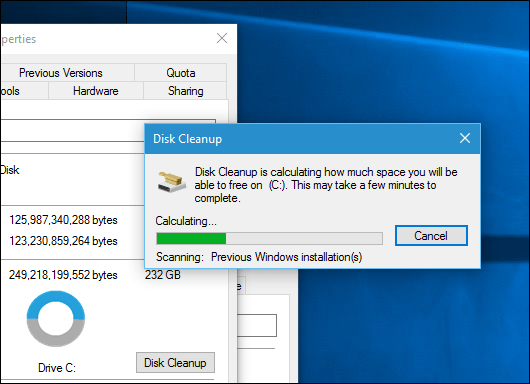 Windows 10 November Update Reclaim 20 Gb Of Disk Space