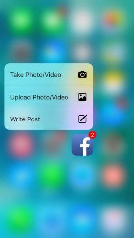 3D Touch FB