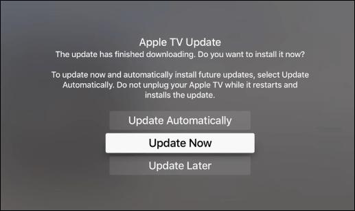 4 Apple TV Updates