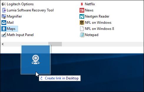 5 create shortcut