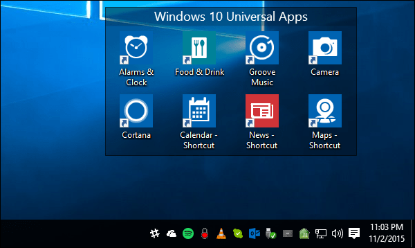 6 Windows 10 Universal App Shortcuts