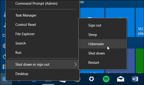 Context Menu Windows 10 Fall Update