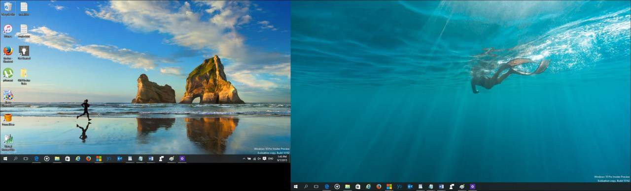 Windows 10 Tip: Configure a Dual Monitor Setup