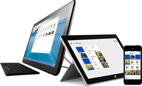 Devices with OneDrive