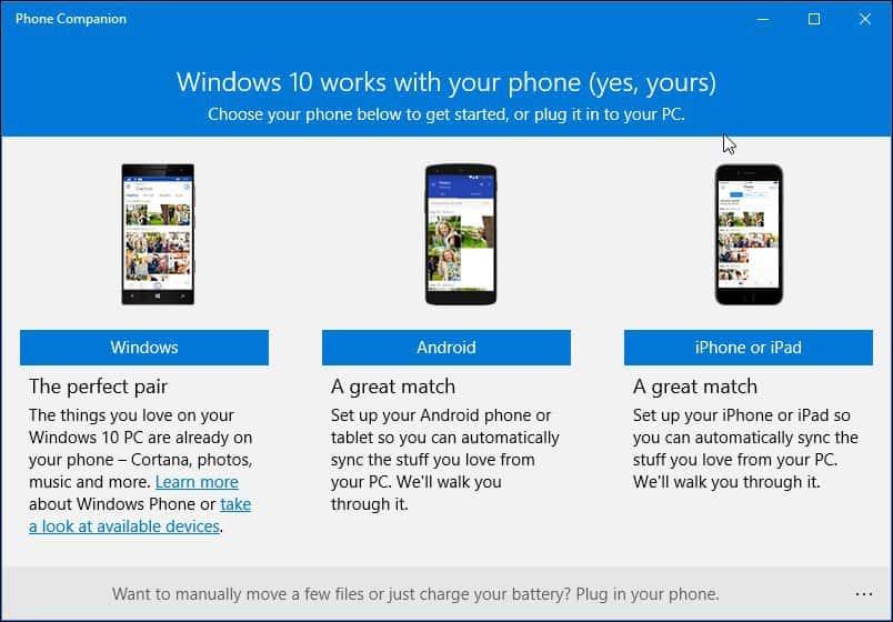 Как сделать с android windows phone