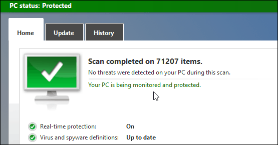 Scan Complete