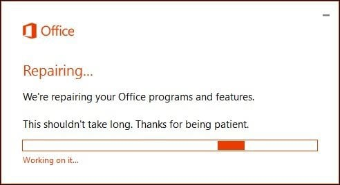How to Repair Your Microsoft Office 365 Installation