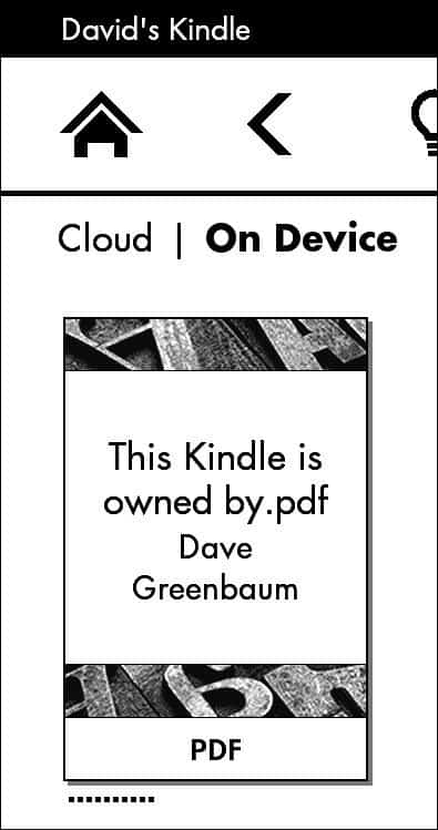 how do i send a pdf to my kindle