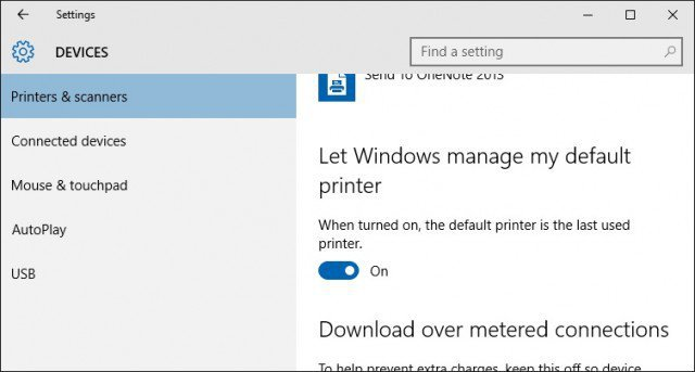 how to delete a printer from windows 10