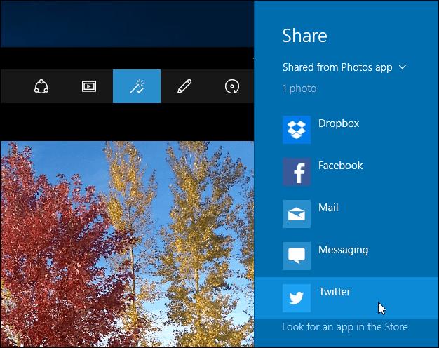 4 sharing options