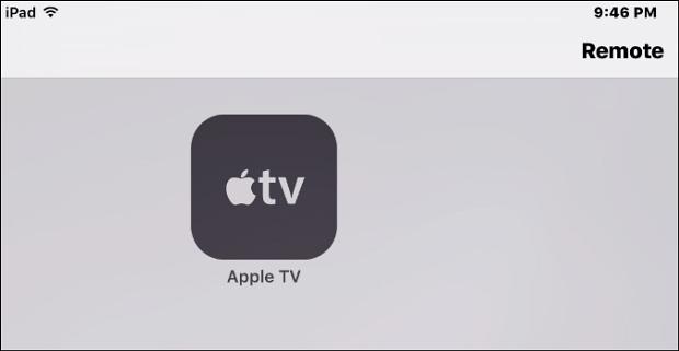 Apple TV Remote app
