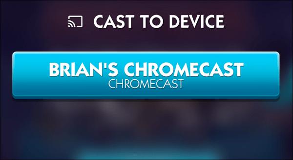 Choose Chromecast