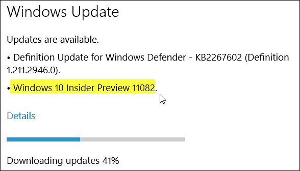 Windows 10 Build 11082
