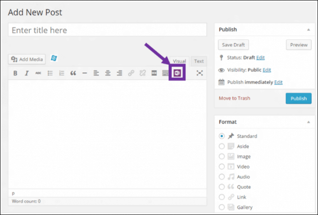 WordPress OneNote