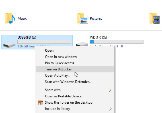 How to Encrypt a USB Flash Drive or SD Card with Windows 10