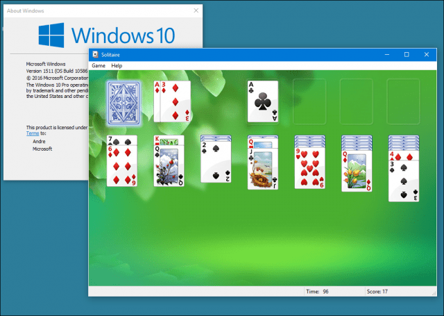 Install Windows 7 Games Hearts, Solitaire and More On Windows 10